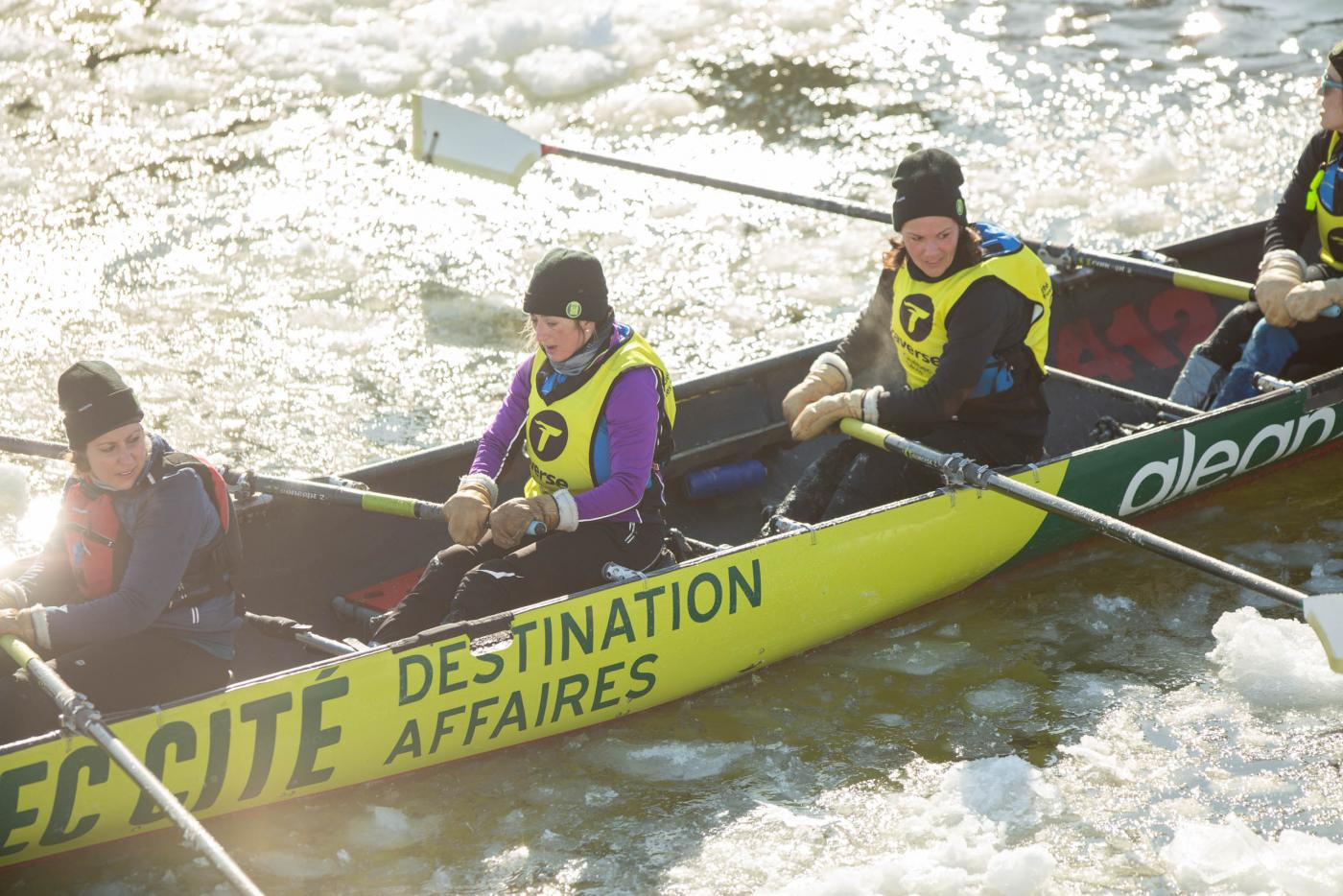 course-canot glace-ice-canoe